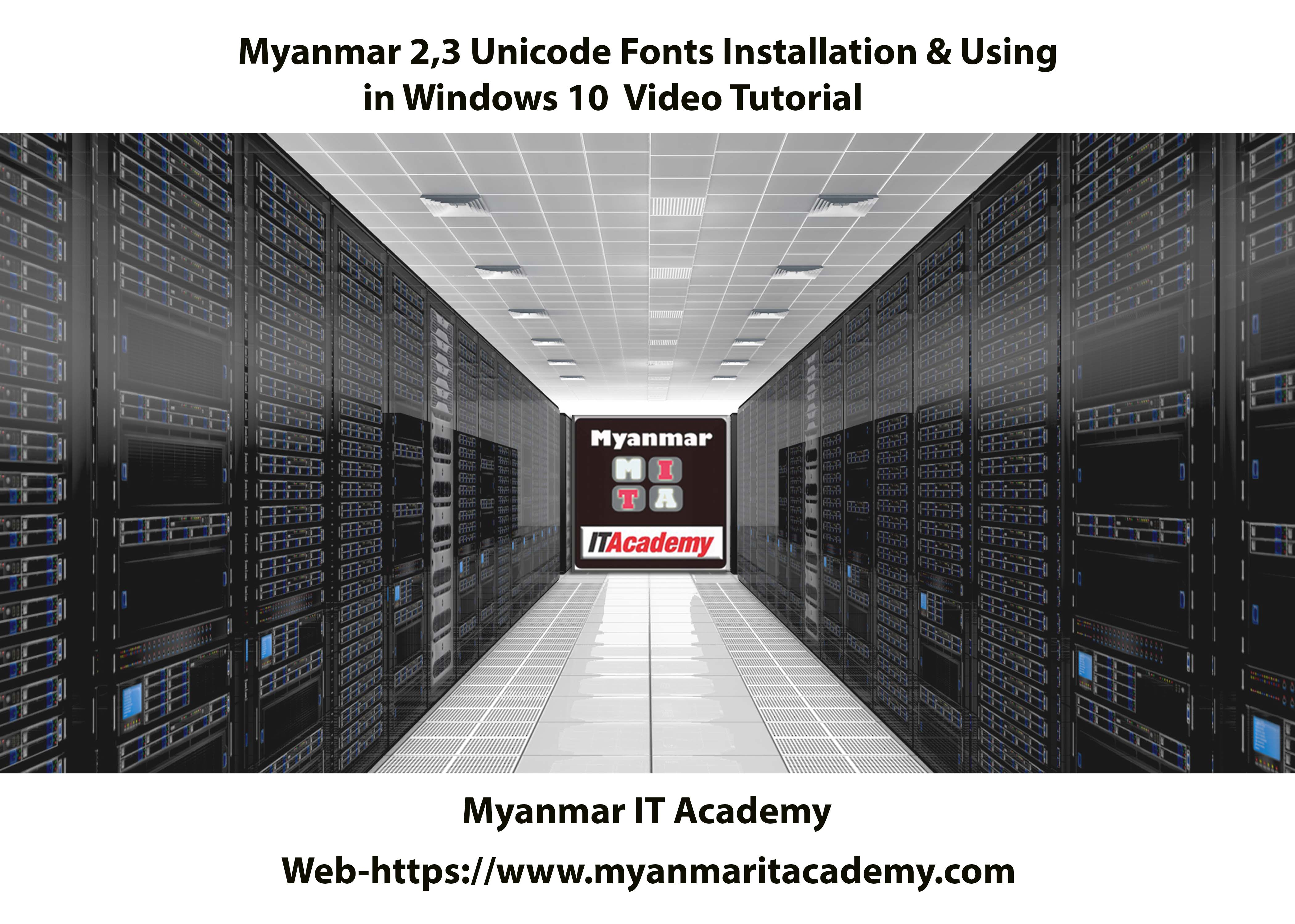 Does the new windows 8 burmese/myanmar work properly in windows 7.